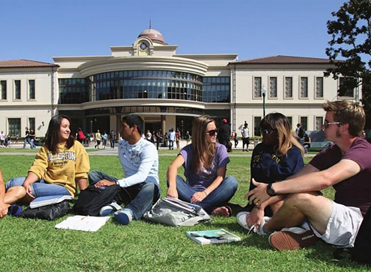 Fullerton College en Californie aux USA